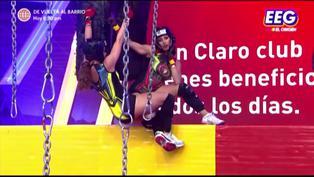 Así fue el reto de Ducelia Echevarría contra Allison Pastor en prueba física