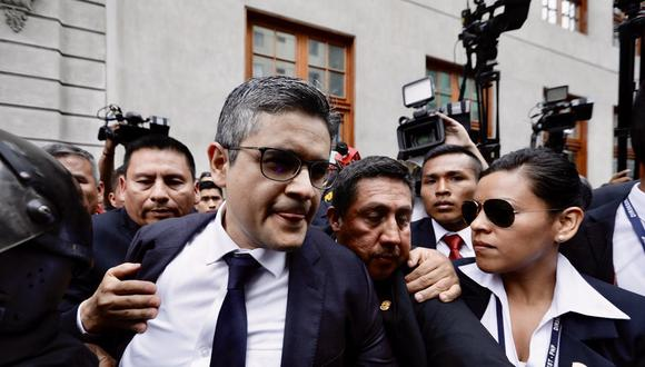 El fiscal José Domingo Pérez investiga a Keiko Fujimori por el delito de lavado de activos. (Ángela Ponce/GEC)