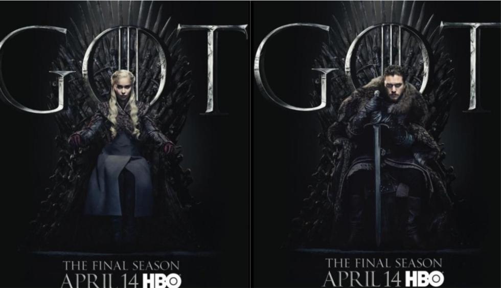 Estos son los nuevos pósters de Game of Thrones. (Foto: HBO)