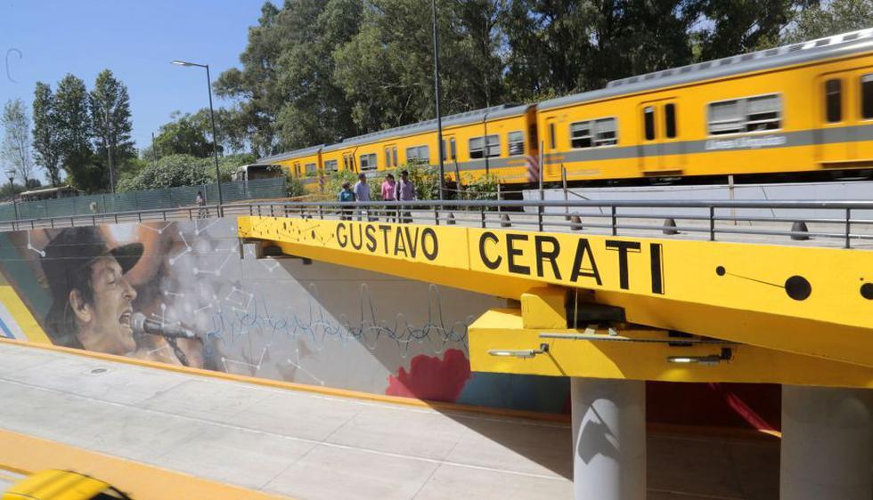Gustavo Cerati: Buenos Aires inauguró bypass dedicado al cantante. (EFE)