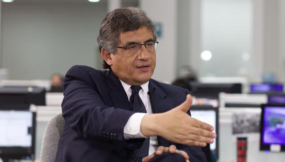 """Juan Sheput criticó a Fuerza Popular por solo haberllevado adelante una agenda dedicada a la """"destrucción"""". (Foto: USI)"""