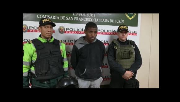 Joseph Morales Balda (19) es el presunto ladrón capturado por los comensales y propietario del local ubicado en Villa María del Triunfo.