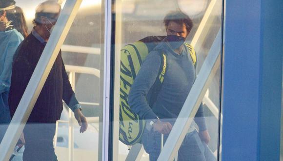 Rafael Nadal espera impaciente fin de cuarentena en Australia (Foto: AFP)