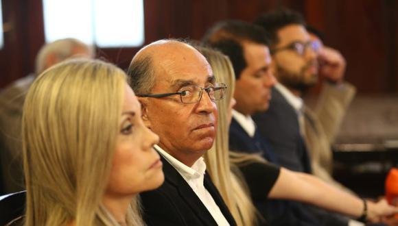 El legislador Edwin Donayre estuvo presente en la audiencia. (Alessandro Currarino/GEC)