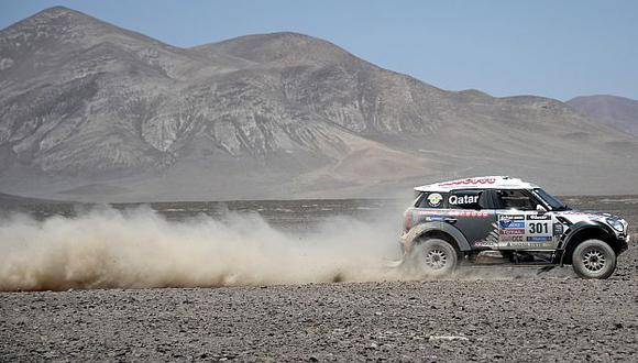 Rally Dakar 2014: Nasser Al-Attiyah ganó octava etapa de la carrera. (Reuters)