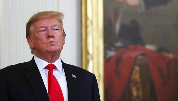 Donald Trump, presidente de Estados Unidos.(Foto: GEC)