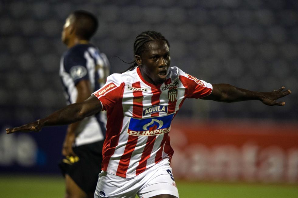 Alianza Lima solo registra un punto en la clasificación del grupo H de la Copa Libertadores, mientras que Junior suma su primera victoria y deja el último lugar de la tabla de posiciones. (AFP)