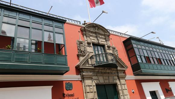 Comisión especial deberá elegir a seis nuevos miembros del Tribunal Constitucional (Andina).