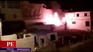 Incendio en San Bartolo preocupó a vecinos