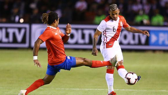 Perú vs. Costa Rica se enfrentarán en el Monumental de Lima en un amistoso internacional. (Foto: GEC)