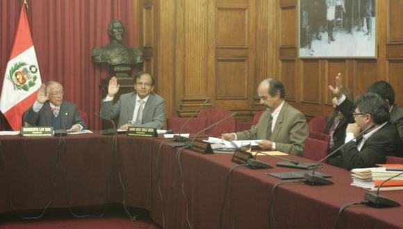 EN MANOS DEL PLENO. El congresista admitió responsabilidad. (Rodrigo Málaga)