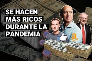 Estos multimillonarios se han vuelto más ricos durante la pandemia de covid-19 ¿Cómo lo lograron?
