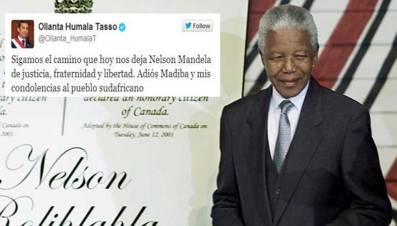 Nelson Mandela: Ollanta Humala lamenta muerte de Mandela (AP)
