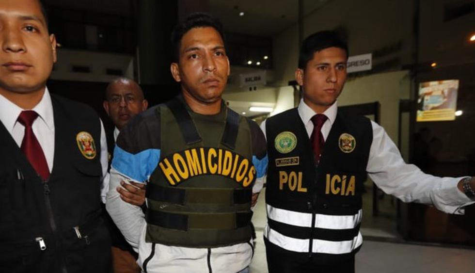 Jimmy García Castillo confesó el crimen durante un interrogatorio de la Policía. (El Comercio)