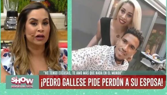 """Ethel Pozo tras disculpas públicas de Pedro Gallese a su esposa: """"Si yo fuera ella, sí lo perdonaría"""". (Foto: Captura de video)"""