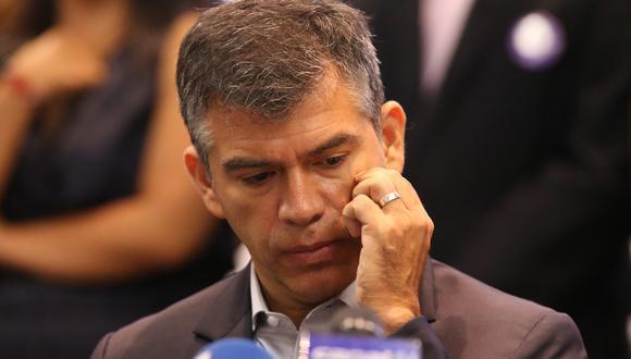 Julio Guzmán se refirió al papel que cumplió Salomón Lerner Ghitis en acuerdo entre Fuerza Ciudadana y el Partido Morado. (Foto: Rolly Reyna / GEC)