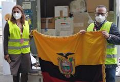 Ecuador recibe un nuevo lote de vacunas contra el COVID-19 de Pfizer y ya supera el medio millón