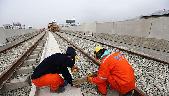 Colegio de Ingenieros denuncia irregularidad en Línea 2 del Metro de Lima. (Rafael Cornejo)
