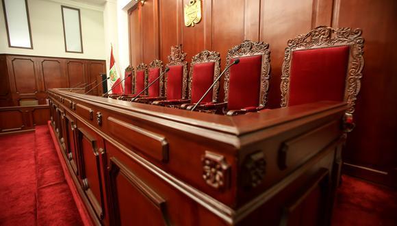 Seis magistrados tienen, desde hace más de un año, el mandato vencido. (Foto: GEC)