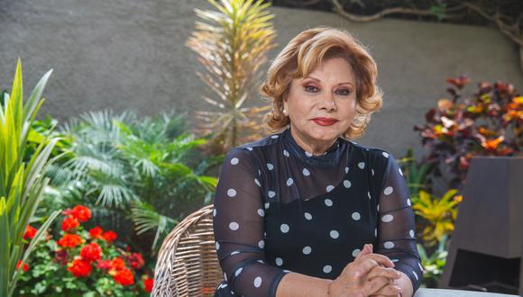 La actriz Camucha Negrete nació en Iquitos, pero se formó en un internado de Lima. (Foto: Allen Quintana).