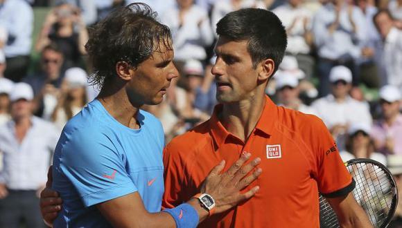 Novak Djokovic mostró todo su poderío en Roland Garros frente a Rafael Nadal. (AP)