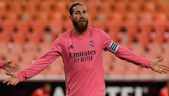 Ramos tiene contrato con Real Madrid hasta mediados del 2021. (Foto: AFP)