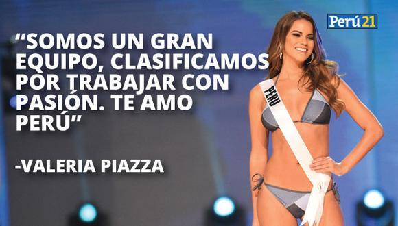 Valeria Piazza se pronunció en Instagram. (AFP)