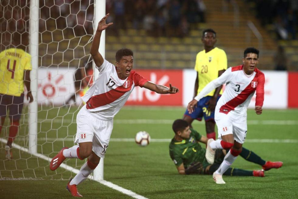 Perú vs. Ecuador por el Sudamericano Sub 17. (Foto: Jesús Saucedo/GEC)