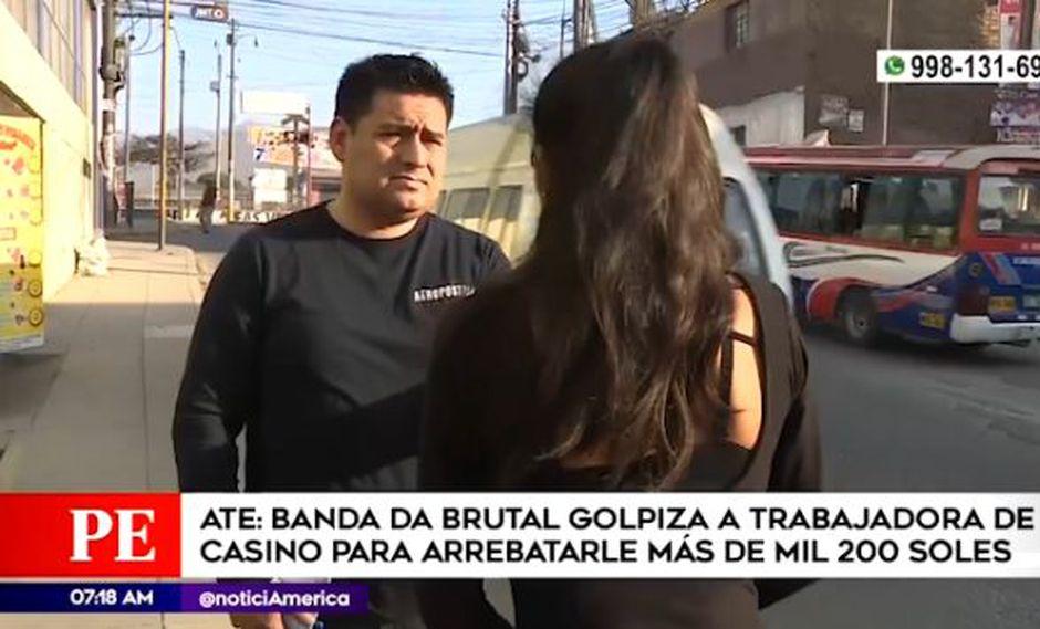 La Policía Nacional logró capturar a uno de los cuatro implicados identificado como Ronald Donato Aquino Castellano (25), informó el citado medio. (América Tv)