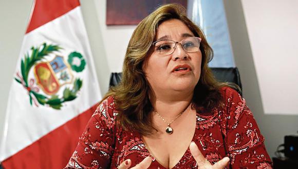 Janet sánchez. Presidenta de la Comisión de Ética