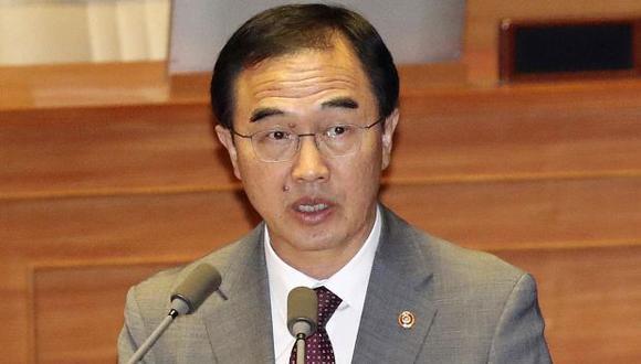 El ministro de Unificación Cho le dijo al parlamento que las estimaciones sobre el tamaño del arsenal nuclear de Corea del Norte van desde 20 bombas hasta 60. (Foto: AP)