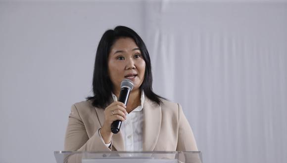 """Keiko Fujimori también dijo que su """"lucha por la libertad no ha terminado"""" tras la proclamación de Pedro Castillo como presidente electo. (Foto: GEC)"""