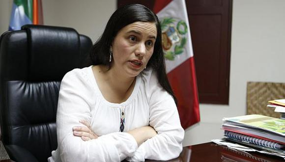 """""""Destaco que el Presidente Martín Vizcarra plantee un referéndum sobre reformas urgentes"""", señaló Verónika Mendoza. (Foto: USI)"""