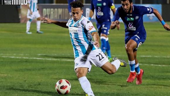 Cristian Benavente emigró al fútbol de Egipto y eso no le gustó a Ricardo Gareca. (Foto: Pyramids FC)