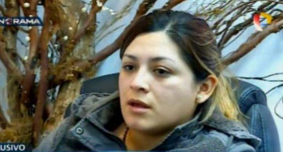 Shirley Lorena Díaz Huerta se entregó el último miércoles a las autoridades. (Foto: Panorama)