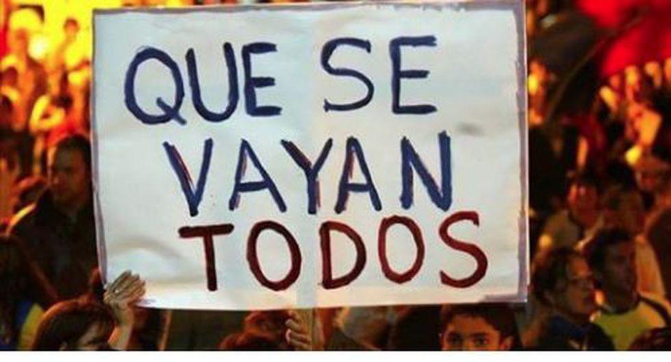 Facebook: Convocan a segunda 'Marcha contra la Corrupción' para el 27 de julio. (Facebook)