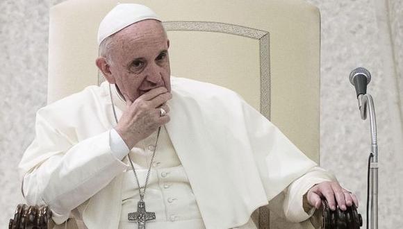 """El papa Francisco instó el año pasado a los empresarios que la Inteligencia Artificial """"ayude a servir a la humanidad (...)"""". (Foto: EFE)"""