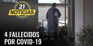 Son 4 fallecidos por COVID-19 en Perú