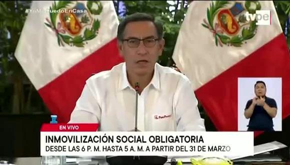 Martín Vizcarra llamó la atención de personas que se están aprovechando de los pases de tránsito. (Foto: Captura de Pantalla)