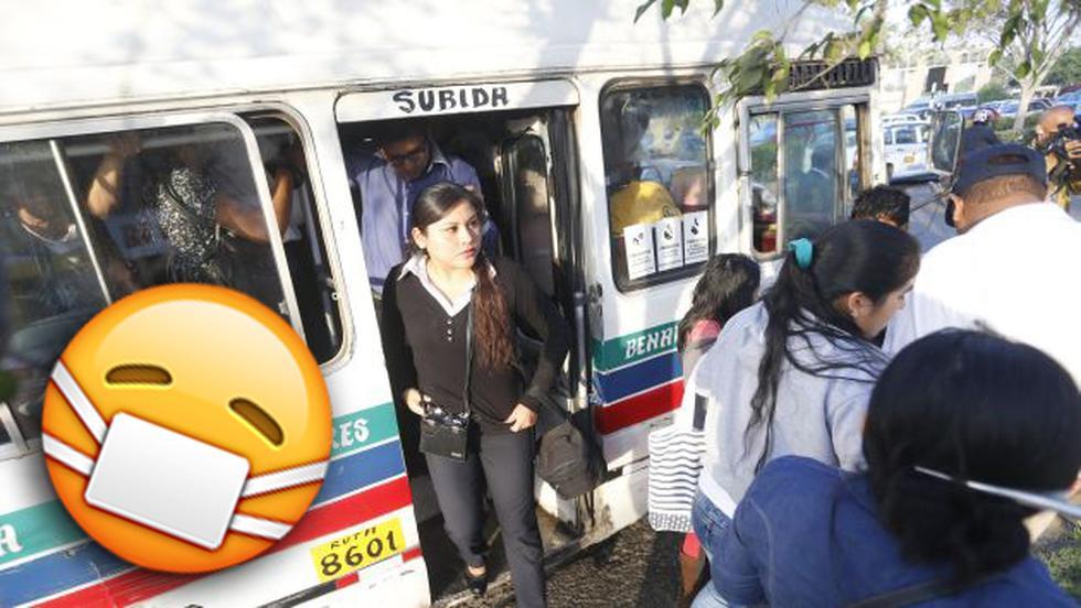 Estas son las enfermedades que puedes contraer en el transporte público. (Perú21)