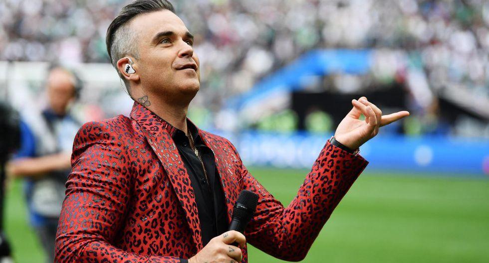 Robbie Williams tocará con Take That en un concierto virtual a fin de mes. (Foto: EFE)