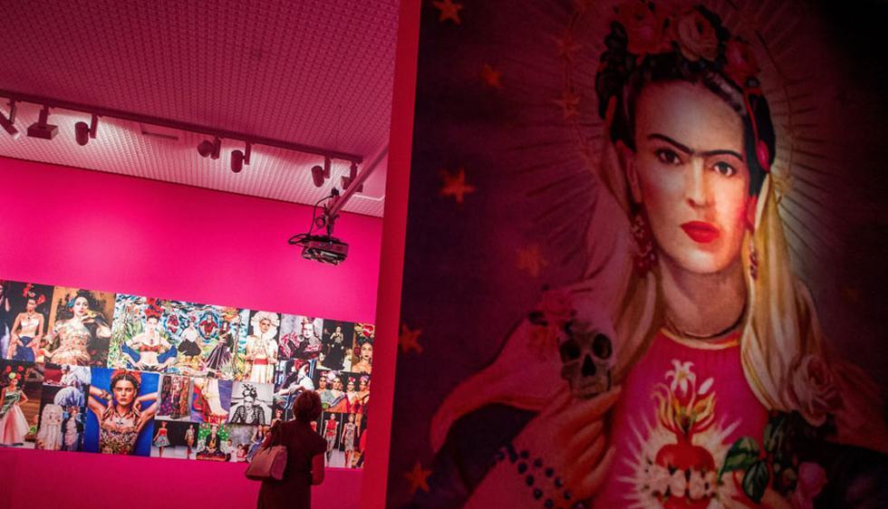 """Frida Kahlo (1907-1954) llegan por primera vez a Hungría con una """"muestra didáctica"""" en la Galería Nacional de Budapest. (Foto: EFE)"""