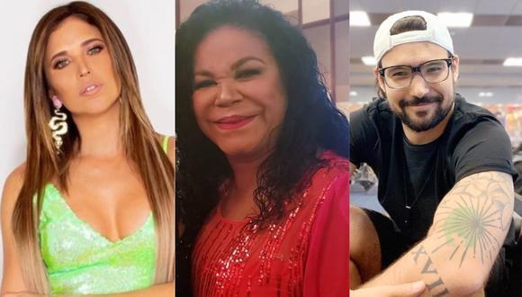 Ezio Oliva, Eva Ayllón y Anna Carina  (Foto: Instagram)