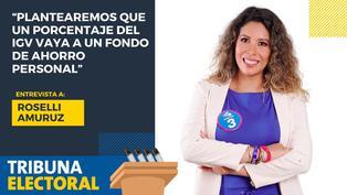Roselli Amuruz candidata al Congreso por Avanza País