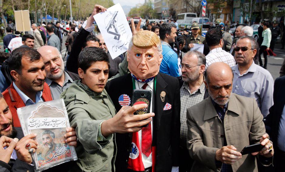 Aumentan las tensiones entre Irán y Estados Unidos. (Foto: EFE)