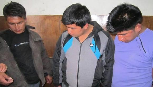 Los detenidos fueron trasladados a la comisaría. (RPP/Armando Chilón)
