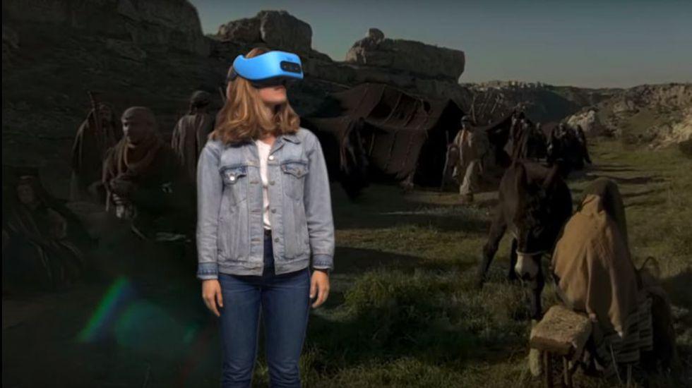 """El filme combina """"experiencias de visualización inmersiva"""" con """"tecnologías de filmación""""."""
