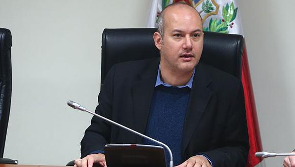 Sergio Tejada no descarta presiones tras nuevo testimonio de 'Brasil'. (Rafael Cornejo)