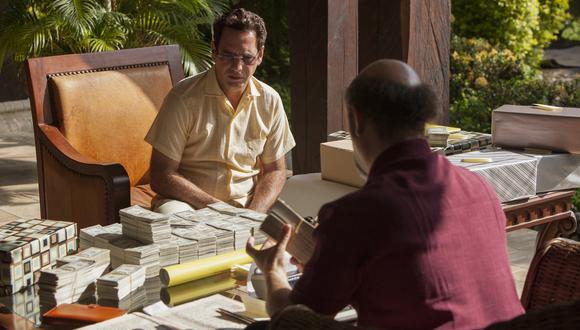 Francisco Denis personifica a Miguel Rodríguez, uno de los capos del cartel de Cali. (Netflix)