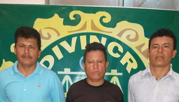 La Policía detuvo a los hermanos luego de cobrar una extorsión de S/1,500. (GEC)